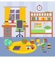 Kid Bedroom vector image