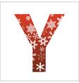 Y Letter vector image vector image