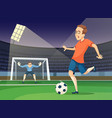 background sport of playing vector image