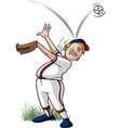 Ball off Head vector image vector image
