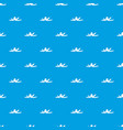 banana skin pattern seamless blue vector image vector image