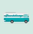 free shipping car flat vector image vector image
