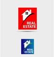 House abstract real estate countryside logo design vector image vector image