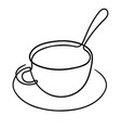 one line drawing vector image