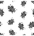 oops comic sound effects seamless pattern vector image vector image