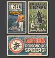 pest control insecticide fumigation service vector image