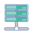 wifi router technology to web access vector image vector image