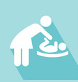 change diapers icon vector image