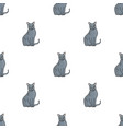 chartreux icon in cartoon style isolated on white vector image