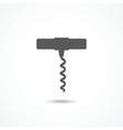 Corkscrew icon vector image