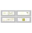 minimalist medicine design of landing page vector image vector image