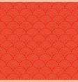 red abstract seamless pattern vector image vector image