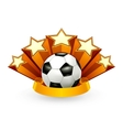 Soccer emblem vector | Price: 1 Credit (USD $1)