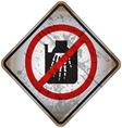 Street Warning Signs 24 vector image