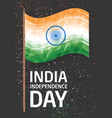 vertical banner template for india independence vector image