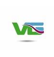 VG logo vector image vector image