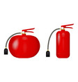 fire extinguishers vector image