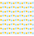 Seamless garlands pattern vector image vector image