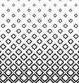 Seamless monochrome square pattern background vector image vector image