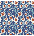 Seamless Tile Pattern Turkish vector image