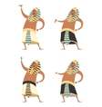 Set of Pharaons vector image vector image