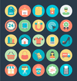 Shopping and Commerce Icons 3 vector image vector image