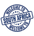 welcome to South Africa vector image vector image