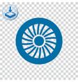 Jet engine icon
