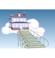 mortgage loan vector image
