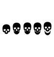 skull icon symbol template vector image vector image