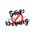 stop doping icon with syringe anti drug concept vector image