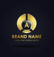 amazing alphabet logo designs vector image vector image