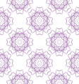 colored seamless pattern of openwork stars vector image vector image