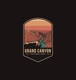 emblem patch logo grand canyon national park