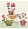 garden utensils vector image vector image