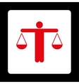 Lawyer icon vector image