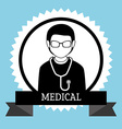 Medical healthcare icon vector image