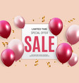 abstract party sale background vector image vector image