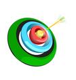 archer target vector image