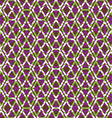 Bright symmetric endless pattern with stylized vector image