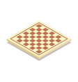 chess board icon vector image