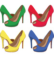 High heel icon vector image