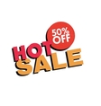 Special Hot Sale vector image