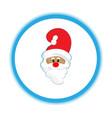 santa ho-ho-ho christmas day vector image