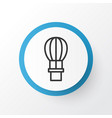 air balloon icon symbol premium quality isolated vector image vector image