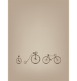 bike card vector image vector image
