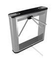 Box tripod turnstile vector image