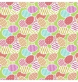 Easter eggs pattern vector image vector image