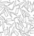 Kitchen Knives Seamless Pattern vector image vector image