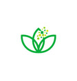 pixel wellness logo icon design vector image